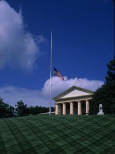 Arlington_House_Half-mast_28_May_2011